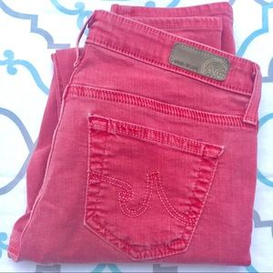 "💙👖AWESOME! AG STEVIE ANKLE👖💙25R (0) 27"" EUC"